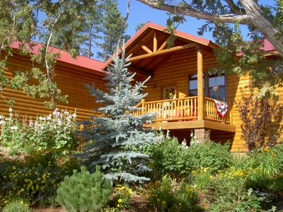 Show Low cabin rental - Summer At The Spruce Lodge