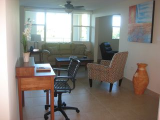 Aguadilla condo photo - Home Office Station with Wireless Internet Connection