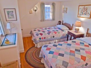 Chilmark house photo - Bedroom #4 - Two Twin Beds. Second Floor
