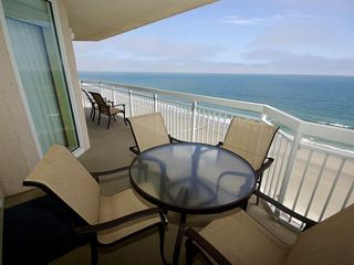 Crescent Beach condo photo - Balcony Furniture