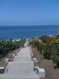 New Beach Access Steps across from condo. .