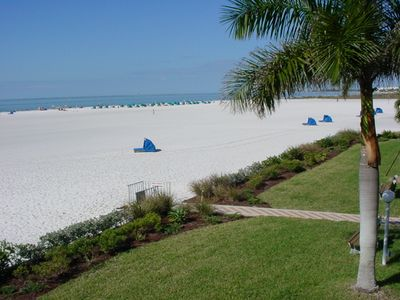 Fort Myers Beach condo rental - View from SW corner of Lanai