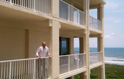 Enjoy the unobstructed panoramic view before heading down to the beach.