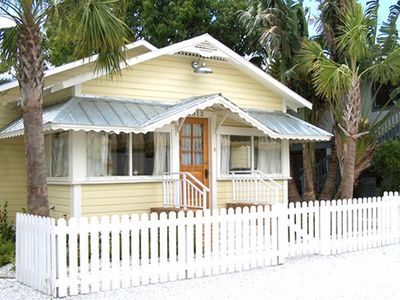 Cortez cottage rental - The Historic William Guthrie House - A Fisherman's Cottage!
