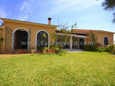 El Campello villa rental - Private Villa Bella Vista with private pool, outside kitchen/ BBQ, Airco.,