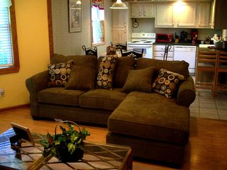 "Mount Airy apartment photo - Sit back, relax in the comfort of your ""home away from home"""