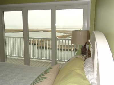 Fenwick Island townhome rental - Enjoy water views from your second bedroom too!