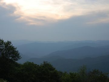 Surrounding Area (not view from house): Blue Ridge Parkway access an hour away!