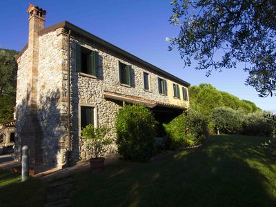 Villa immersed in nature near Padua and Venice, breathtaking view golf green