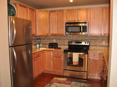 Pigeon Forge condo rental - The kitchen with all the upgrades and culinary needs that one would want!