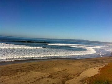 La Selva Beach townhome rental - View from our beach cottage deck