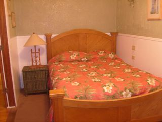 New Port Richey cottage photo - Bedroom With Queen Bed