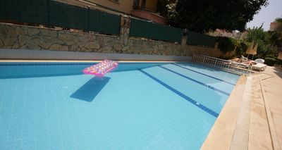 Fancy a swim, go on jump in, Claddagh Court, Alanya