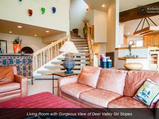 Deer Valley house photo - LIVING ROOM - AMAZING VIEWS