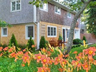 Vineyard Haven house photo - Front Yard Perennial Gardens in Bloom