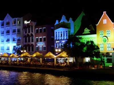Enjoy daytime shopping & exciting nite life in Curacaos capitol city Willemstad