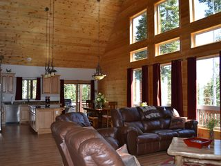 Duck Creek Village cabin photo - Open concept Great Room/Kitchen