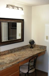 vanity dressing area in Master Suite