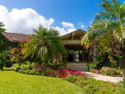 Welcome to island living at its best in this open-air home in Princeville, Kauai