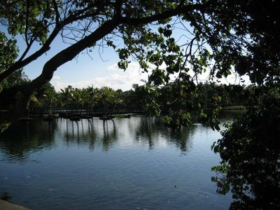 Mauna Lani townhome rental - Walk through the ancient fish ponds.