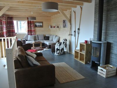LARGE CHALET HEART OF STATION, SKI ON FOOT, FOR 15 PEOPLE
