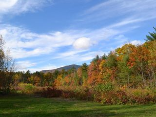 North Conway condo photo - Fall foliage from the deck.