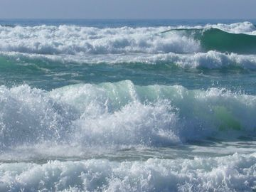 Beautiful Ocean Waves at our Beach!