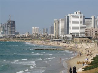 Tel Aviv apartment photo - Manta Ray known beach- 5 min walk from apartment
