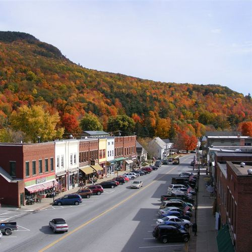 Nearby Bristol, VT is wonderful for dining & shopping.