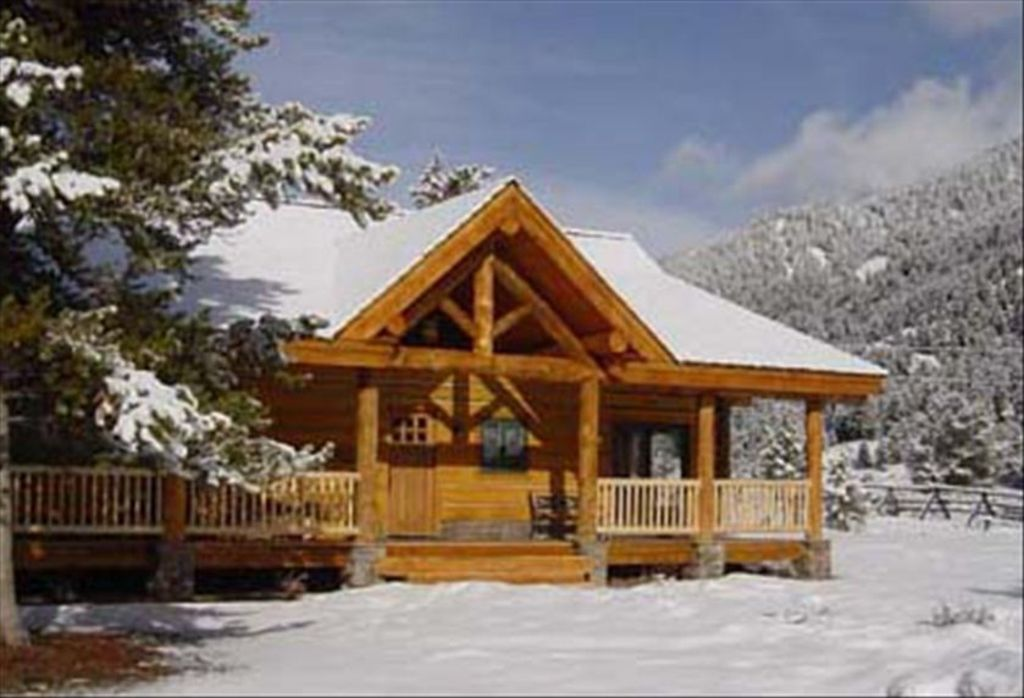 Big sky cabin rental majestic views 39 little big sky 39 4br for Big sky cabin rentals
