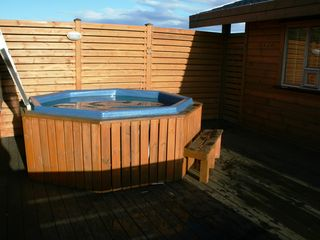 South Iceland cottage photo - The hot tub