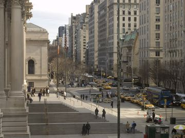The Metropolitan Museum of Art on 5th Avenue.