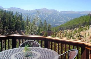 Breckenridge townhome photo - summer view from the deck