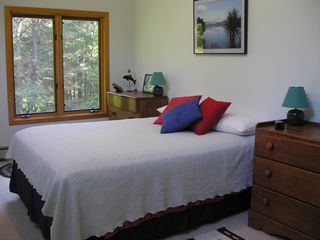 Wiscasset house photo - Second bedroom (queen) can accommodate 2 cots