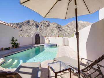 La Quinta house rental - Poor Area - The mountain view for the pool patio is not to be believed.