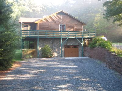 Blowing rock vacation rental vrbo 437402 3 br blue for White rock mountain cabins