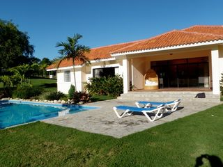 Sosua villa photo - Pool and Villa view