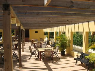 Sosua condo photo - Community room with BBQ