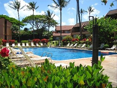 The largest heated pool on Maui's West Side!