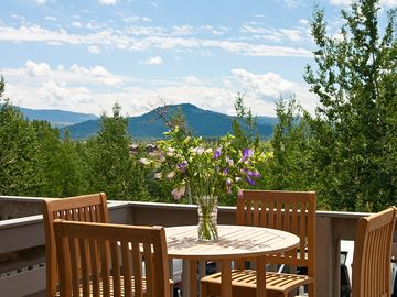 Teton Village townhome rental - View from the Deck