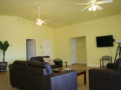 center of living room. large & spacious. everything inside is brand new.