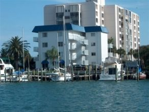 Clearwater Beach studio rental - A water view of Bayside Condominium