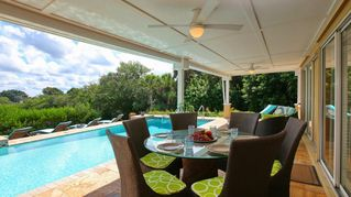 Nokomis house photo - Luscious Backyard With Private Heated Swimming Pool
