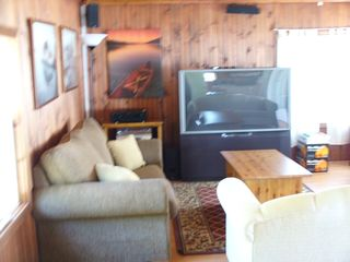 Orilla cottage photo - Bunkie on the water with home theatre and surround sound - Spectacular!
