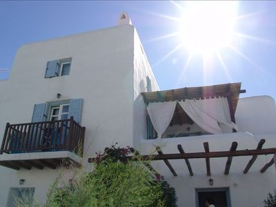 Mykonos townhome rental - Outside of townhome