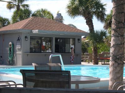Sandwich shop at Safety Harbor Pool for lunch