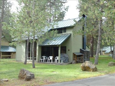 #9 Ranch Cabin.  A great location, just steps from the complex swimming pool