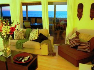Little Gasparilla Island house photo - Living Room With Ocean View