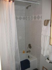 Dillon condo photo - Master full bath with thick towels & soft TP!