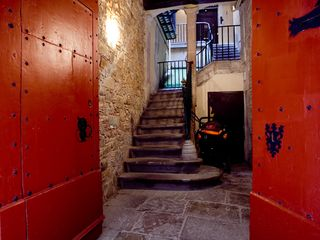 Barrio Gotico apartment photo - Cultural heritage entryway. The old Hostal.